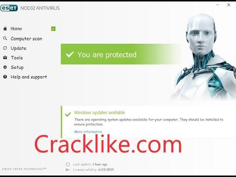 ESET NOD32 Antivirus 15.0.16.0 Crack With License Key Free Download 2022 [New]