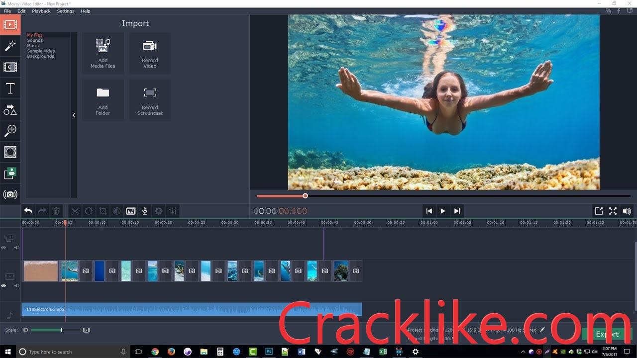 Movavi Video Editor 22.0.0 Crack Plus License Key Free Download [Lifetime]