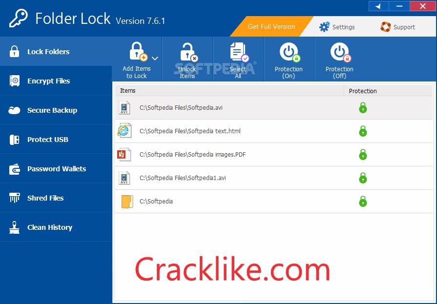 Folder Lock 7.9.0 Crack With Activation Key Free Download 2022 (Lifetime)