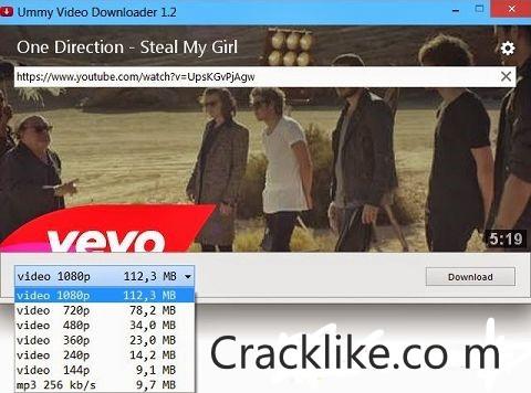 Ummy Video Downloader 1.11.08.1 Crack + Latest Version Free Download 2022