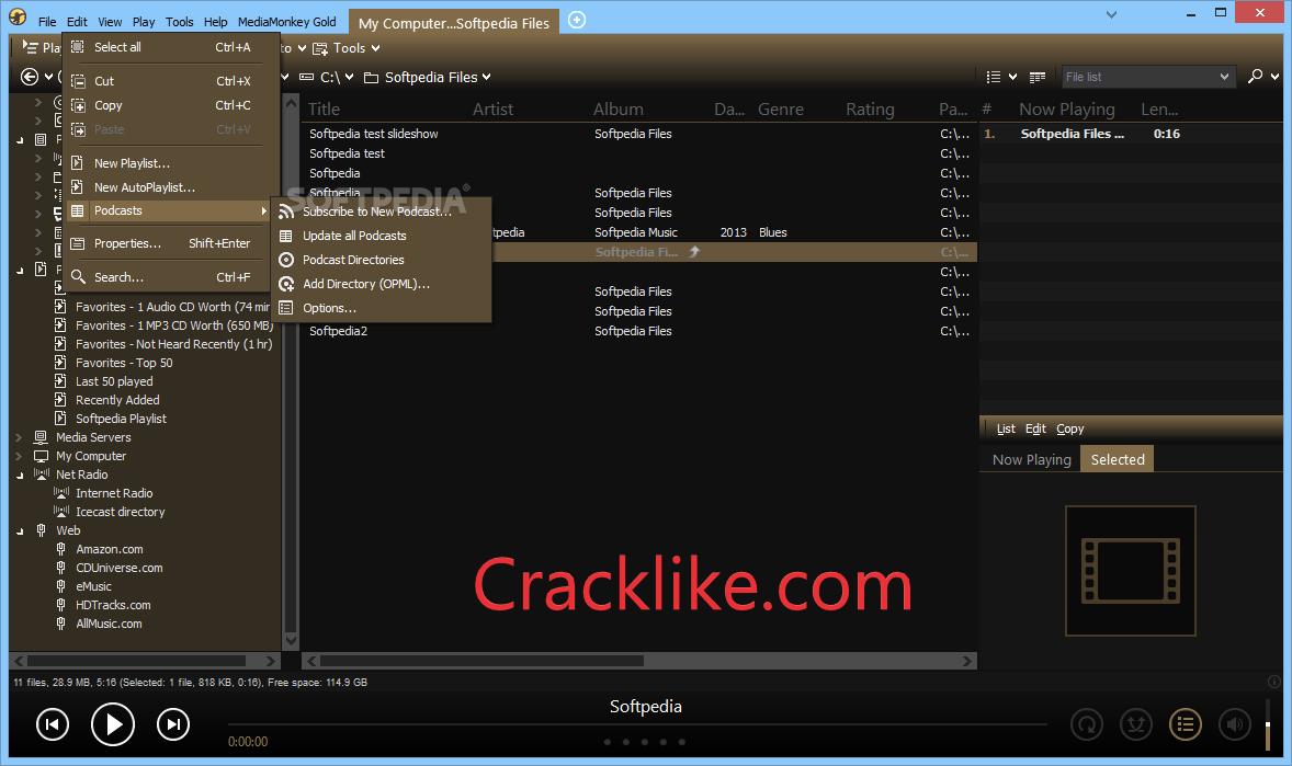 MediaMonkey Gold 5.0.0.2310 Crack With Full Torrent Download 2021