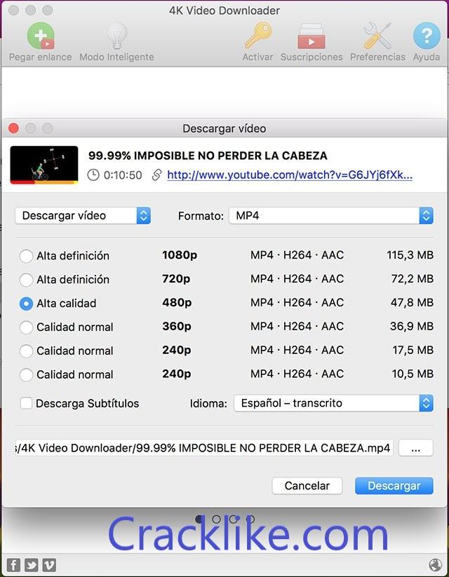4k Video Downloader 4.18.2.4520 Crack With License Key Download 2022