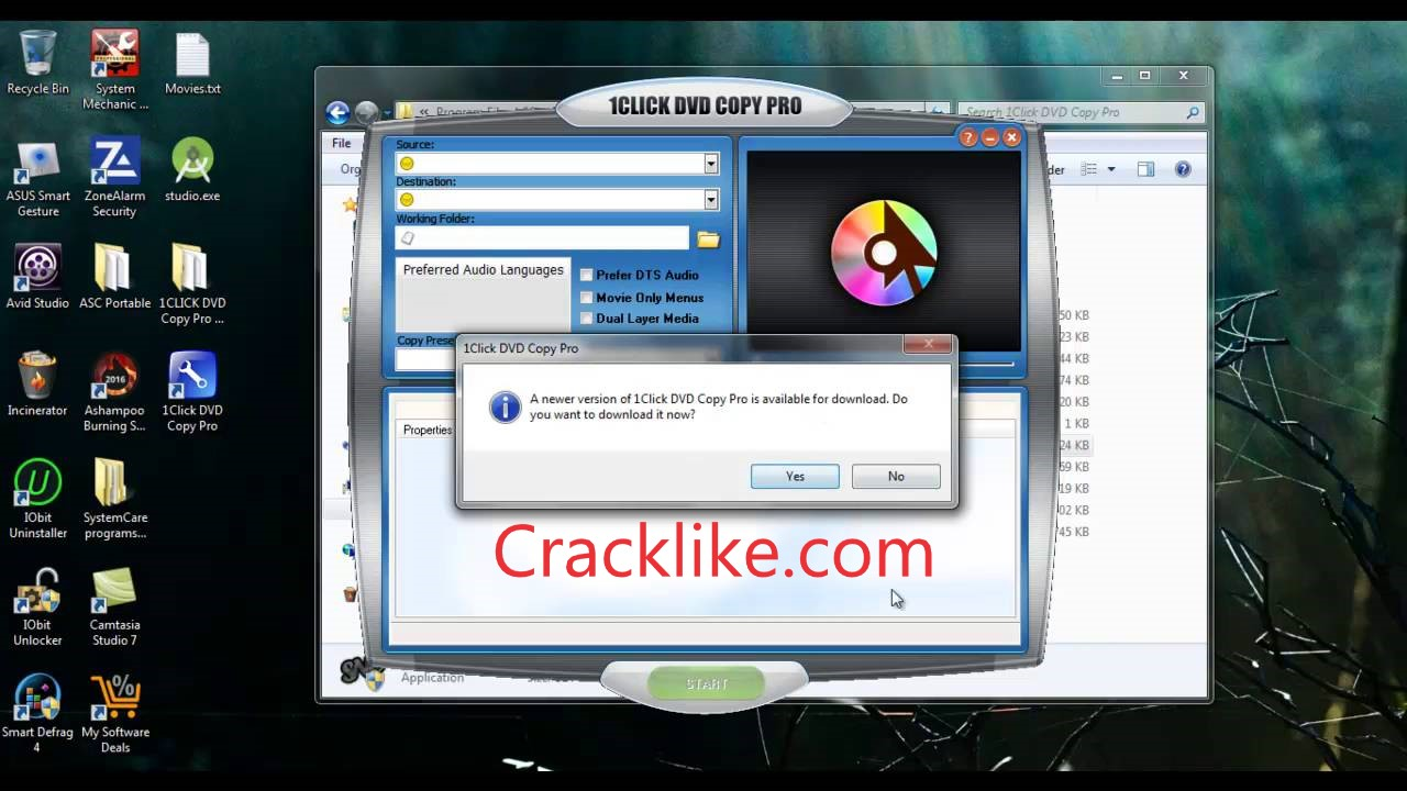 1Click DVD Copy Pro 6.2.2.1 Crack With Full Activation Code Download [Mac+Win]