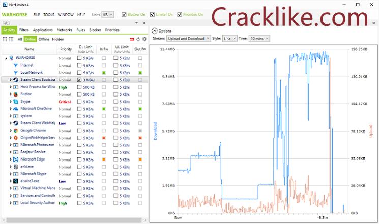NetLimiter Pro 4.1.11 Crack With Registration Key Full Torrent Free Download 2021