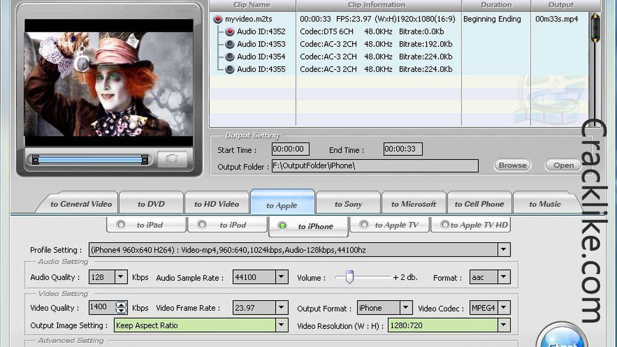 WinX HD Video Converter Deluxe 5.16.7 Crack + License Code Download 2022
