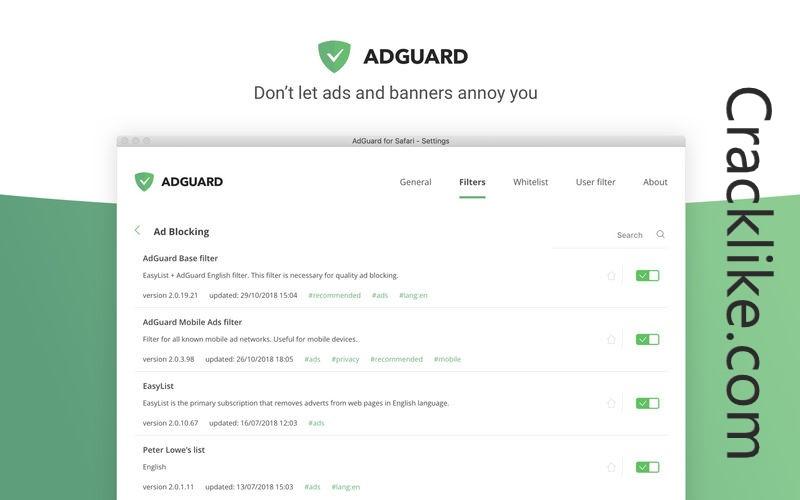 Adguard Premium 7.6.3676 Crack Plus Full Latest Version Lifetime License Key Download 2022