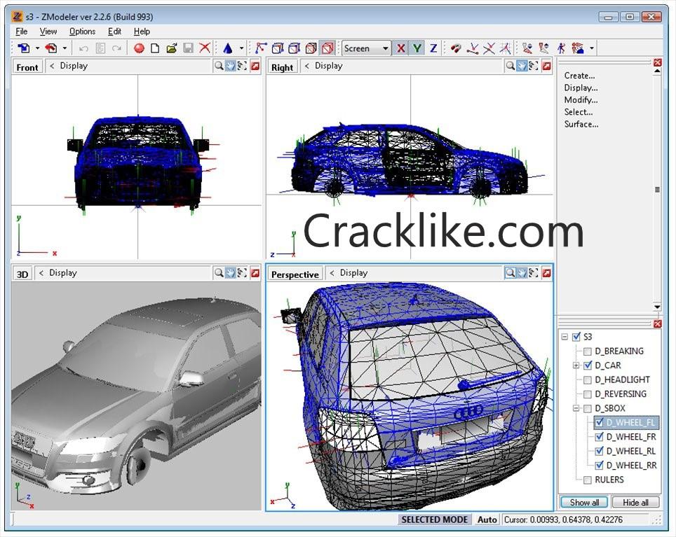 ZModeler 3.3 Crack Build 1194 With Full License Keygen Free Download 2021