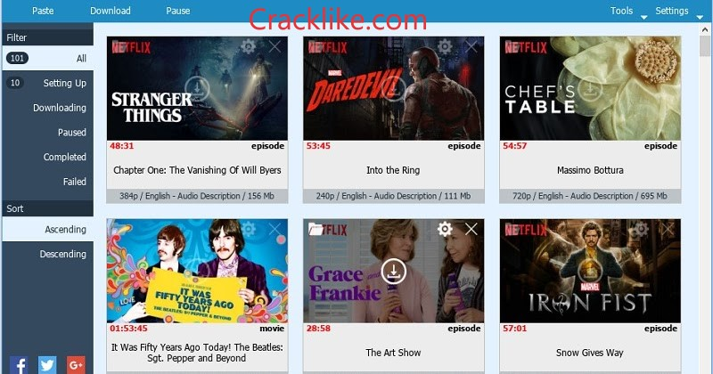 Netflix 7.119 Crack Full Version Free Download For Android / Win / Mac 2022 [New]