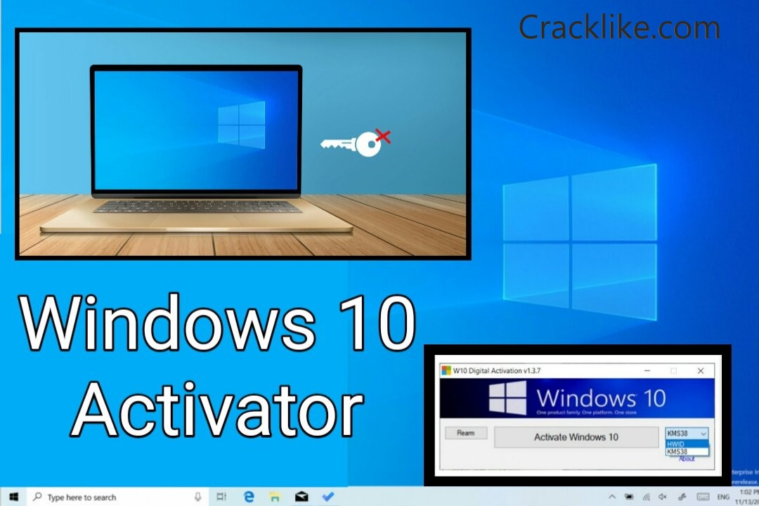 Windows 10 Activator Official KMSpico Crack + Full Torrent Download 2022