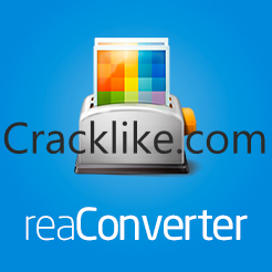 ReaConverter Pro 7.681 Crack With Activation Key Latest Version Download 2022